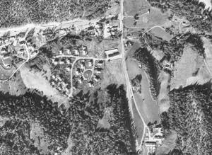 Flyfoto av Leirskallen 1971